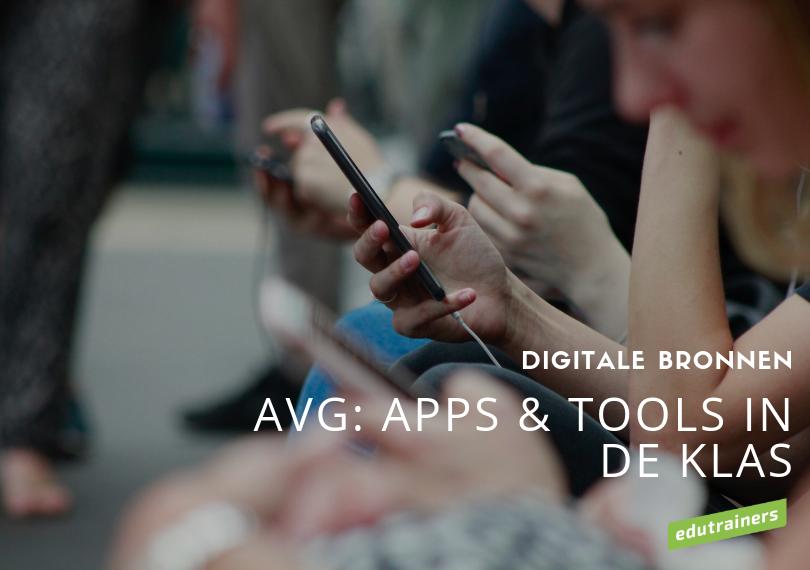 Edutrainers Academy leerblok AVG: apps & tools in de klas