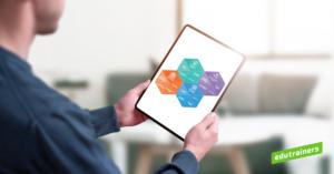 Online leren kan ook via modules op de tablet