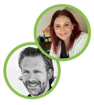 Laure walter goudsmit en Mark Nijenmanting