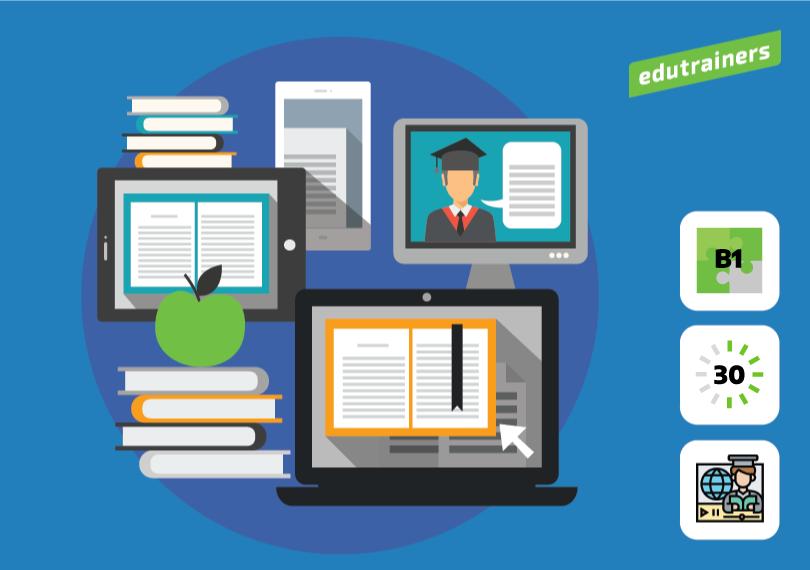 Verschillende methodes en werkvormen : laptops computers boeken tablets